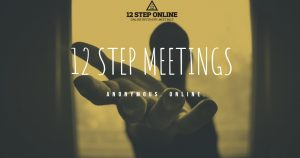 Wednesday Nooner @ 12 Step Online