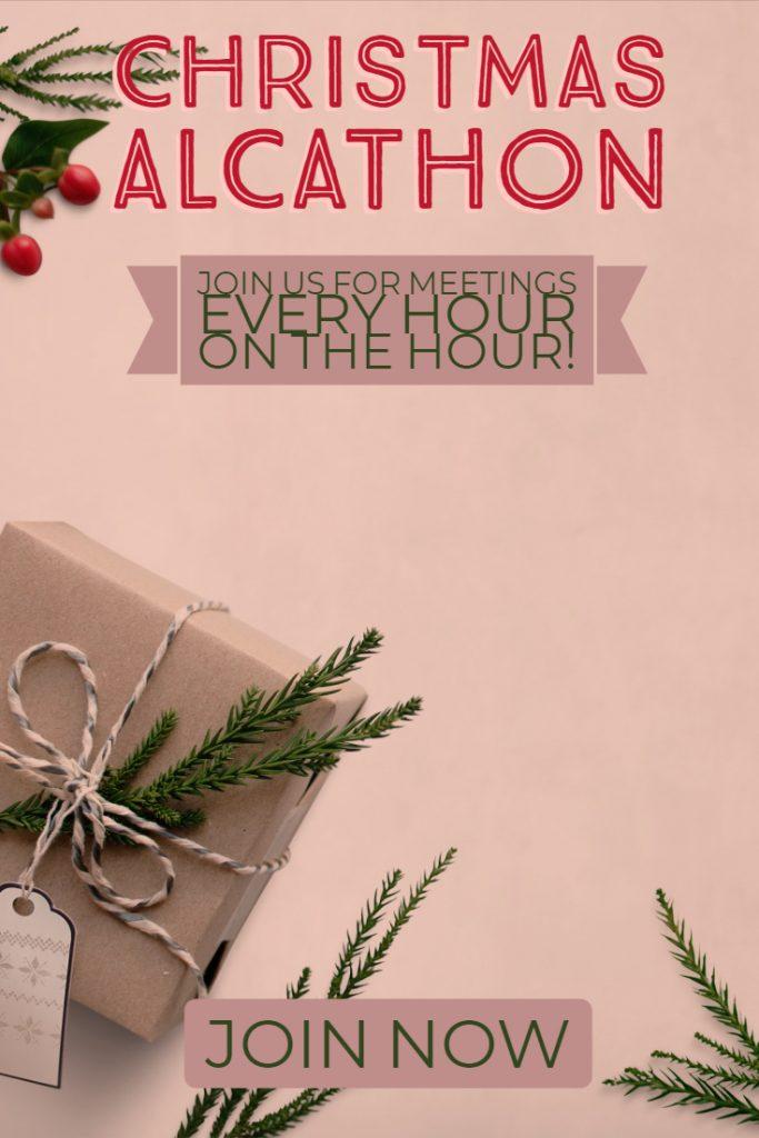 12 Step Online Christmas Alcathon
