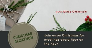 Christmas Alcathon @ 12 Step Online